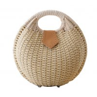 CL582 - Cute rattan straw bag