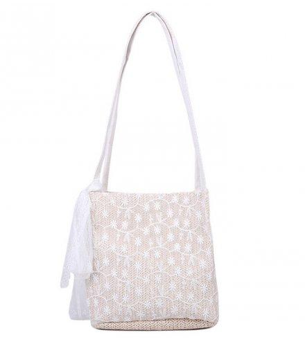 CL611 - Straw woven shoulder Bag