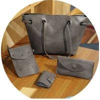 CL624 - Retro Shoulder Bag Set
