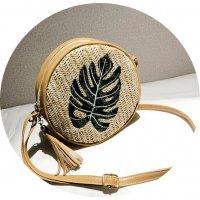 CL627 - Korean Woven Round Bag