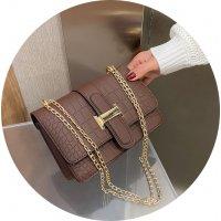 CL650 - Crocodile pattern Korean Messenger bag