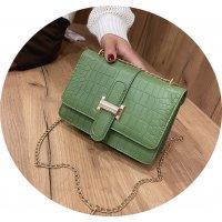 CL651 - Crocodile pattern Korean Messenger bag