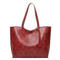 CL667 - Fashion Snake Print Bag