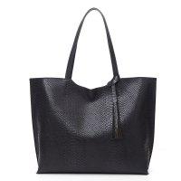 CL669 - Snake Print Tote Bag