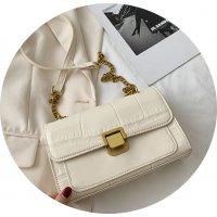 CL695 - Retro Simple Embraided Shoulder Bag