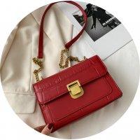 CL697 - Retro Simple Embraided Shoulder Bag
