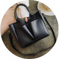 CL718 - Simple casual shoulder bag
