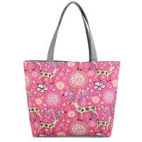 CL723 - Canvas Pink Floral Bag