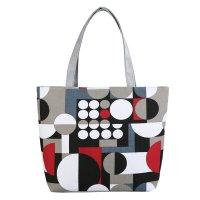 CL725 - Canvas Geometric Bag