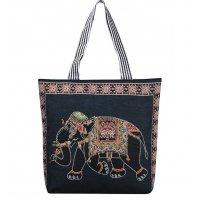 CL728 - Stylish Kitty Canvas Bag