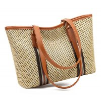 CL774 - Rope braided tote bag