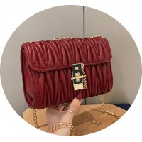 CL781 - Retro Fold texture Messenger Bag