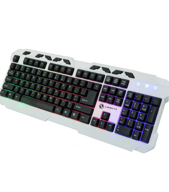PC009 - White Rainbow Edition Keybaord