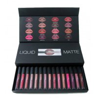 MA101 - Full Collection Liquid Matte Huda Beauty 16 PCS