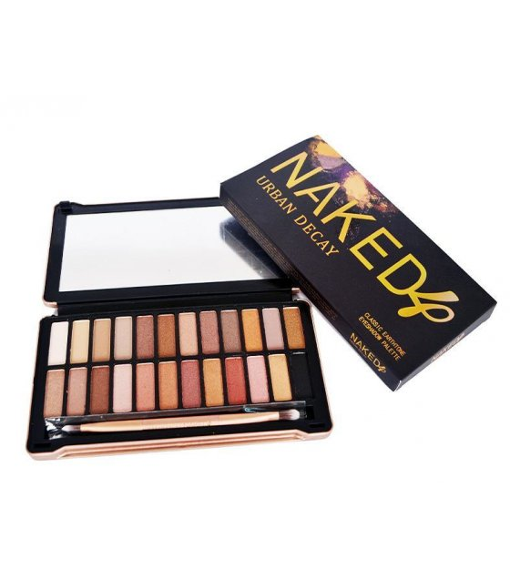 MA158 - Urban Decay Naked 4 (24 Colors) Makeup Shimmer Eyeshadow Palette