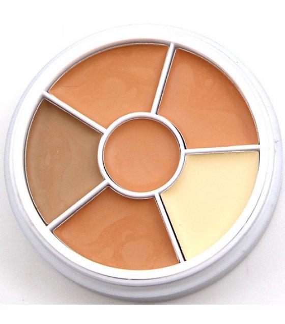 MA225 - 6 Colors Contour Concealer Palette Kit