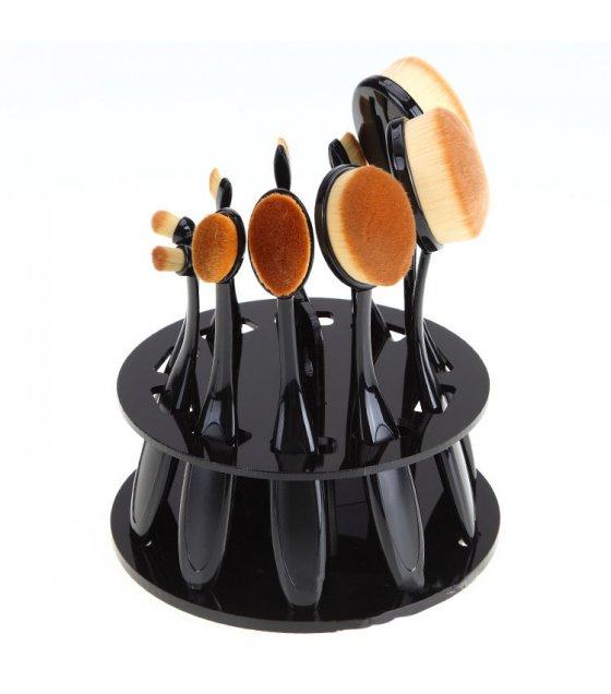MA249 - Acrylic plate 10 makeup brush display