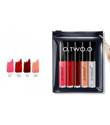 MA285 -  O.TWO.O Makeup Set Lip Oil + Matte Lipliner Kit