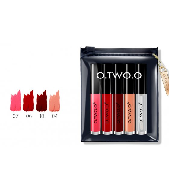 MA285 -  O.TWO.O Makeup Set Lip Oil + Matte Lipliner Kit