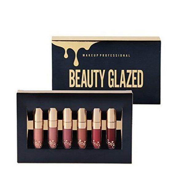 MA293 - Beauty Glazed Original Matte Liquid Lipstick Set of 6