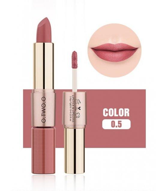 MA317 - O.TWO.O 2 In 1 Matte Liquid Lipstick