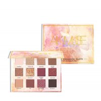 MA355 - Glitter Matte Eyeshadow Make Up Palette