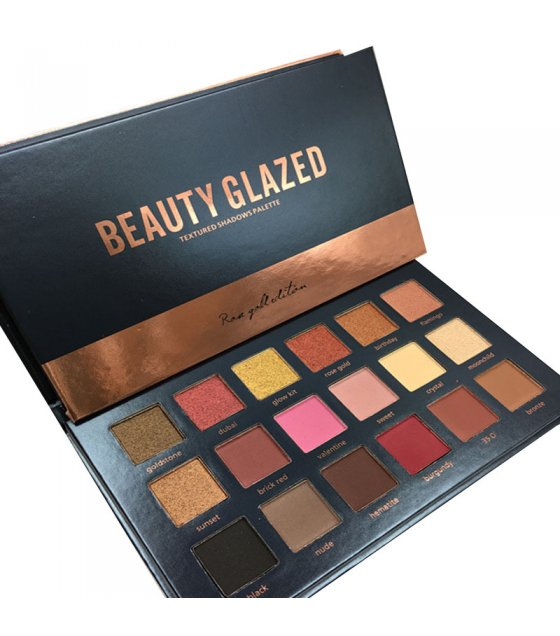 MA374 - Beauty Glazed Rose Gold Eyeshadow Palette