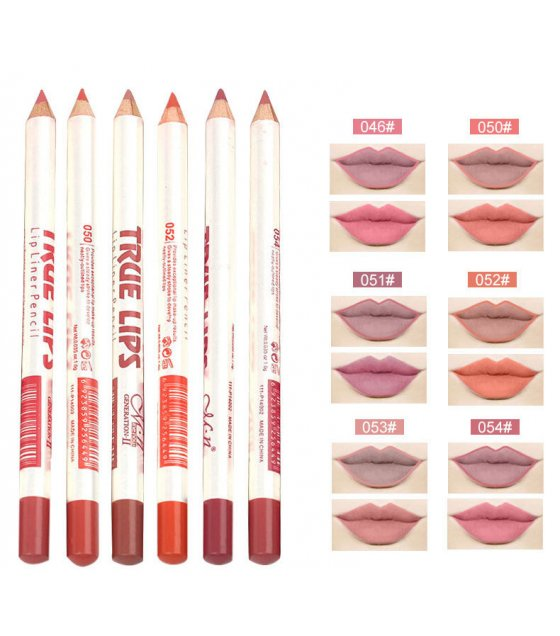 MA382 - Matte Lip Liner Pencil Set