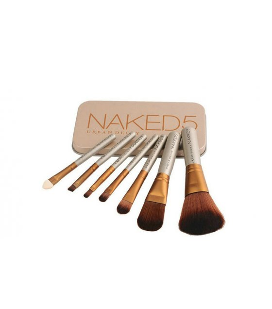 MA395 - Naked5 7 PCS Make Up Brushes