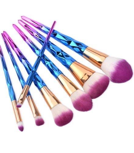 MA397 - Spiral Shape 7 Pcs Cosmetic Brush Set