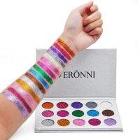 MA408 - VERONNI Brand 15 Colors Glitter Eye Shadow Palette