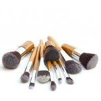 MA432 - 11pcs Makeup Brushes Set with Bamboo Handle