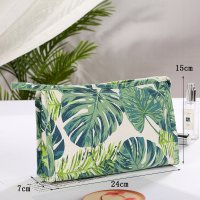 MA438 - Summer Canvas Makeup Storage Bag