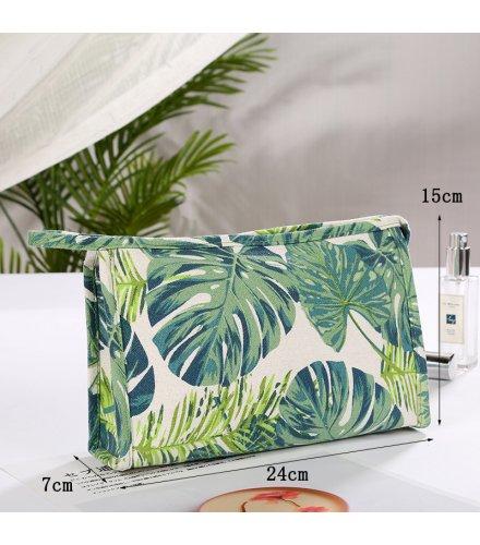 MA438 - Summer Canvas Makeup Storage Bag