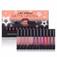 MA444 - 12pcs Long Lasting Matte Lipstick