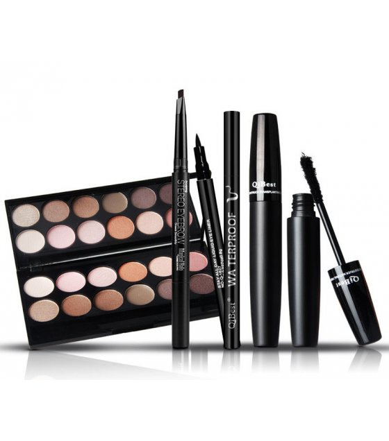 MA447 - Eye Shadow Box With Eye Mascara And Eyebrow Pencil
