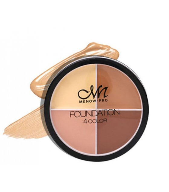 MA456 - MENOW Professional Makeup 4 Color Foundation