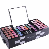 MA460 - MISS ROSE 142 Colors Eyeshadow Palette All in One Long Lasting Luminous Makeup Cosmetics Kit