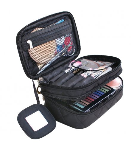 MA466 - , Makeup Brush Cosmetic Bag with Travel Organizer
