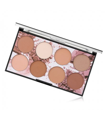 MA480 - Miss Rose 8 Color Compact Powder Palette