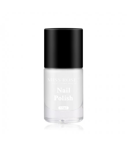 MA482 - MISS ROSE Matte Frosted Top Oil Nail Polish