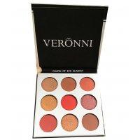MA486 - Veronni 9 color Eyeshadow Pallette