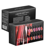 MA498 - Lamuseland 12Colors/Set Travel Kit Long-Lasting Lipstick Matte