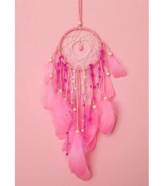 DC025 - Original pink night light dream catcher