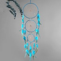 DC036 - Feather three ring Dream Catcher
