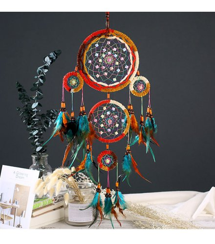 DC037 - Indian Style Dreamcatcher