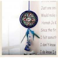 DC045 - Embroidered fabric retro crafts dream catcher