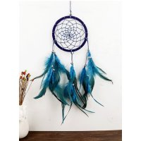 DC062 - Weaving Crafts Feather Dreamcatcher