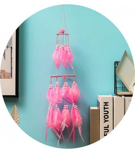 DC065 - Wind chime hanging light dream catcher