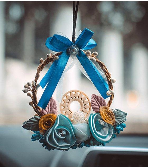 DC071 - Creative wreath car Decoration